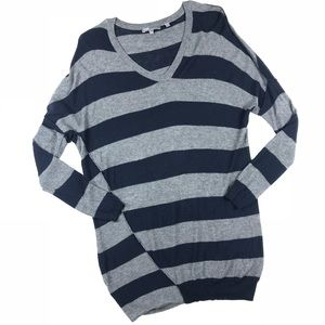 Vince Oversized Striped Sweater Size XS
